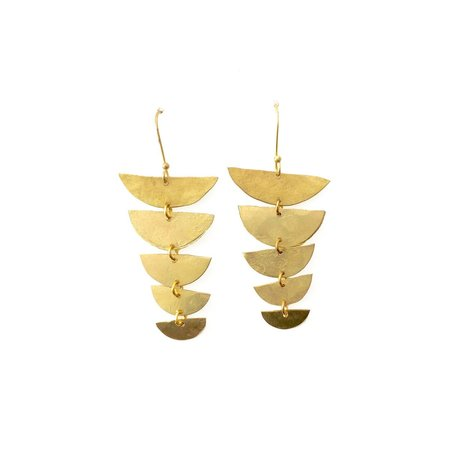 ALCHEMILLA BACKBONE EARRINGS