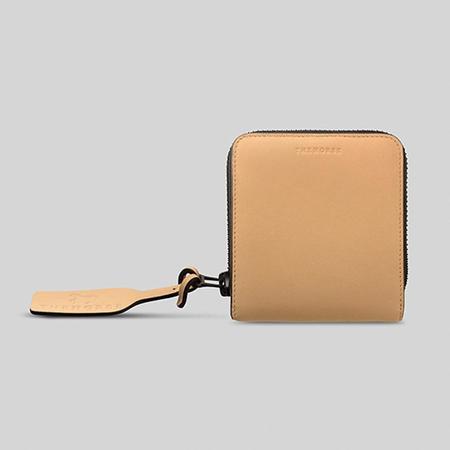 The Horse Mini Block Wallet - Ivory