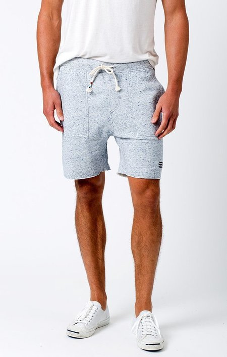 Sol Angeles Denim French Terry Saddle Short