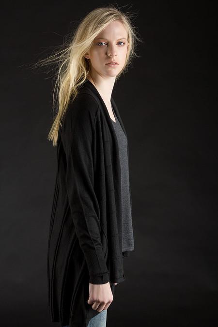 Paychi Guh Cashmere Floaty Cardigan - Black