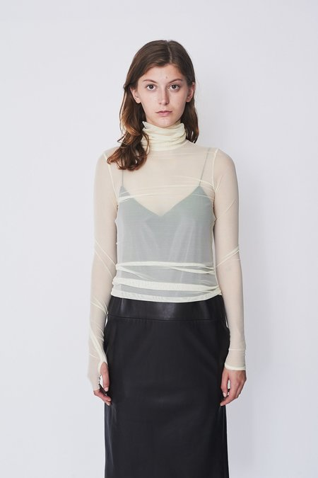 Assembly New York Mesh Turtleneck
