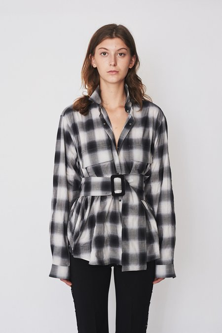Assembly New York Plaid Poet Shirt