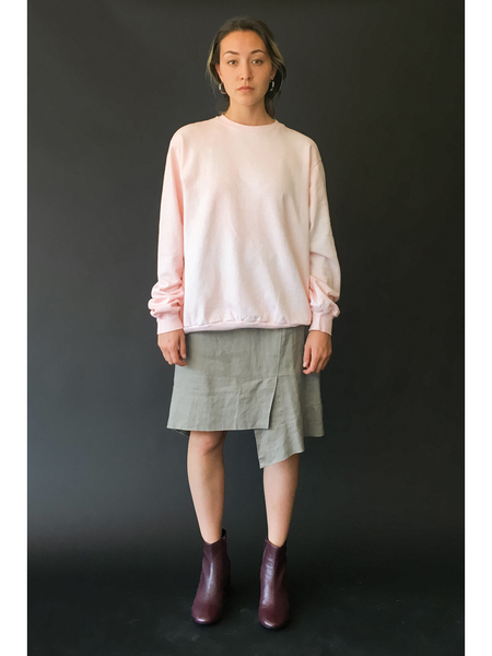 Unisex Audrey Louise Reynolds Organic Cotton Sweatshirt, Pink