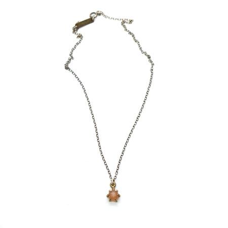 Laurel Hill Jewelry Io Pendant - Peach Moonstone