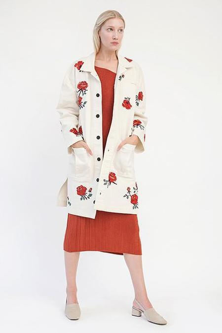 Pari Desai Rose Embroidered Coat