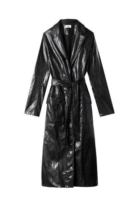 Nomia Faux Belted Trench
