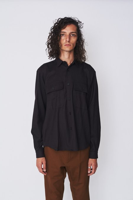 Assembly New York Fleece Poet Shirt