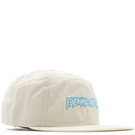 FUCKING AWESOME OUTLINE LOGO HAT - CREAM