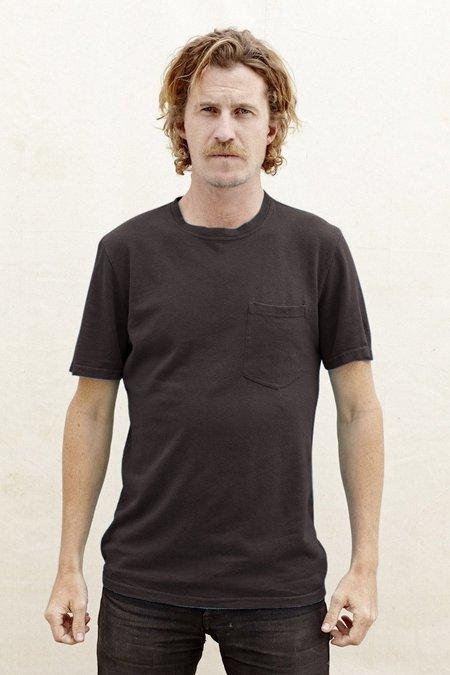 Jungmaven Baja Short Sleeve Pocket Tee 7oz - Washed Black