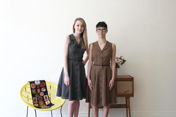 Betina Lou Irene Dress | Black