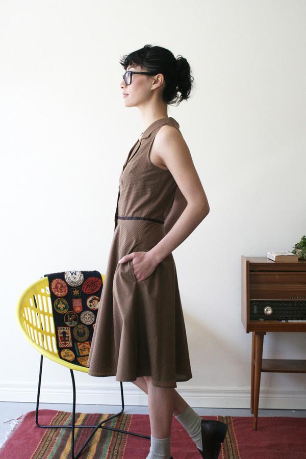 Betina Lou Irene Dress | Ochre