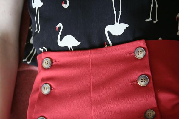 Betina Lou Lisa Shorts | Red