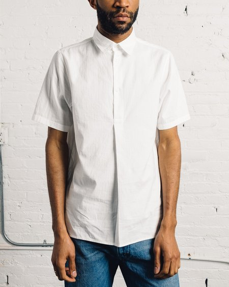 Norse Projects Theo Double Layer Cotton - White