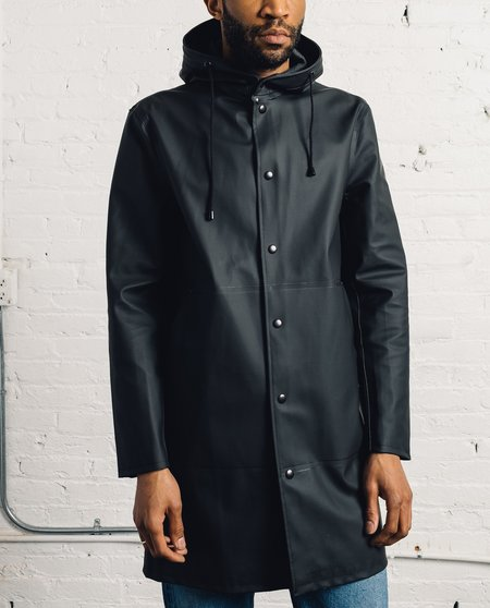 Stutterheim G̦teborg Raincoat, Black
