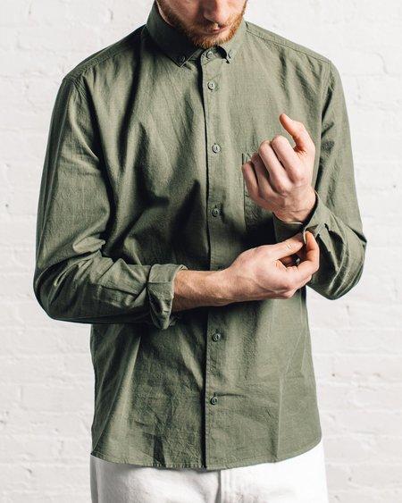 YMC Dean Green Shirt