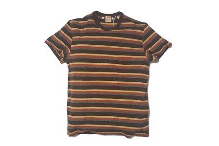 Men's Levi's Vintage Clothing LVC 1960's Casual Stripe Durango Brown