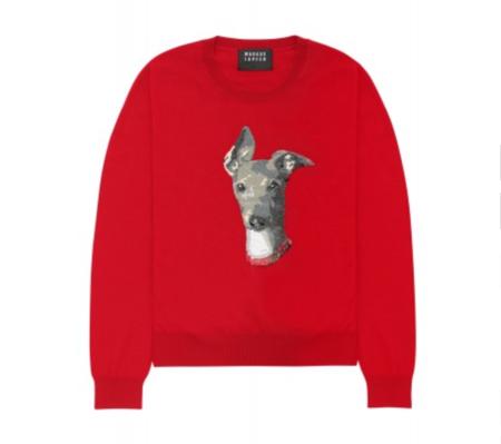 Markus Lupfer Sequin Whippet Grace Sweater