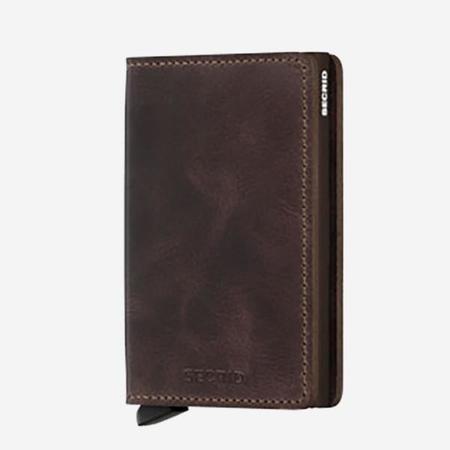 SECRID Slim Wallet - Vintage Chocolate