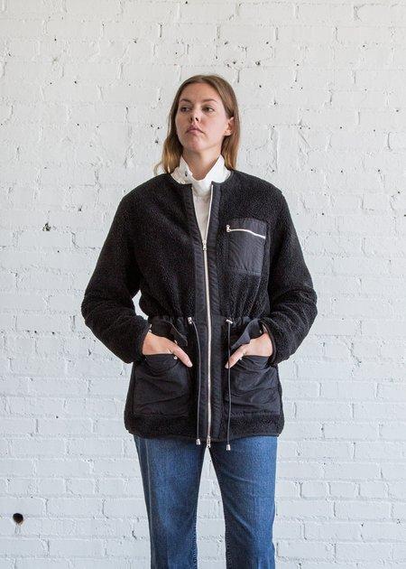 Nomia Utility Sherpa Jacket Black