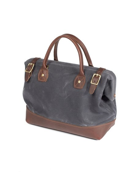 Wood&Faulk Cambrian Slate Carpenter Bag