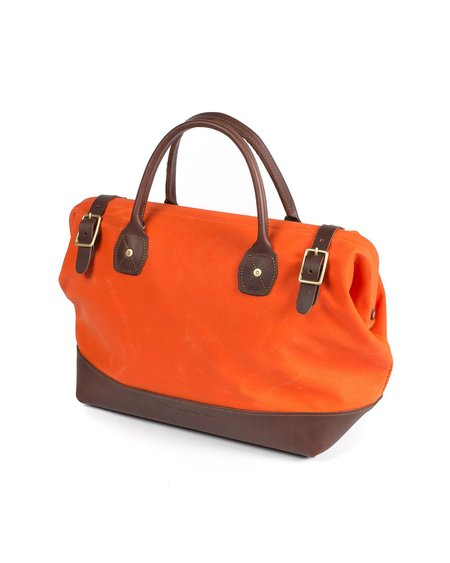 Wood&Faulk Carpenter Bag - Orange