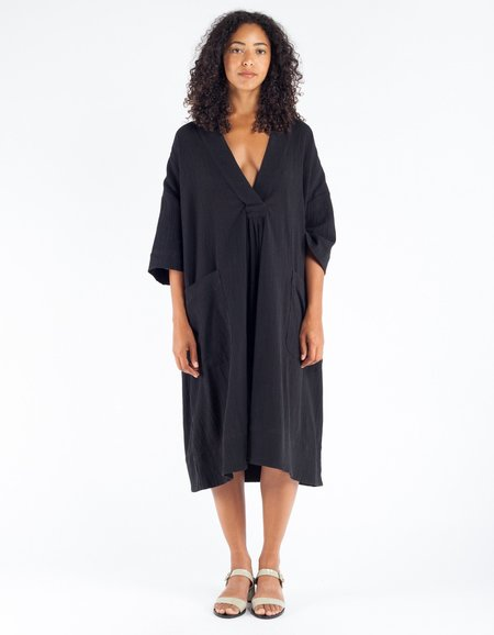 Sunja Link Pullover Dress Black