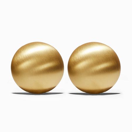 Ming Yu Wang Pupil Earrings - Brass