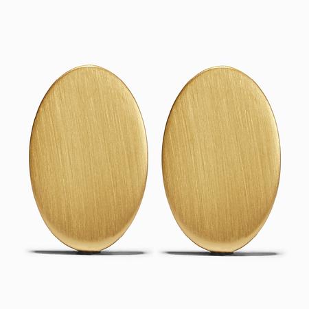 Ming Yu Wang Plus Earrings - Brass