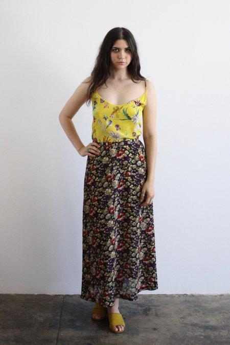 Vintage & Pre-loved Floral Maxi Skirt