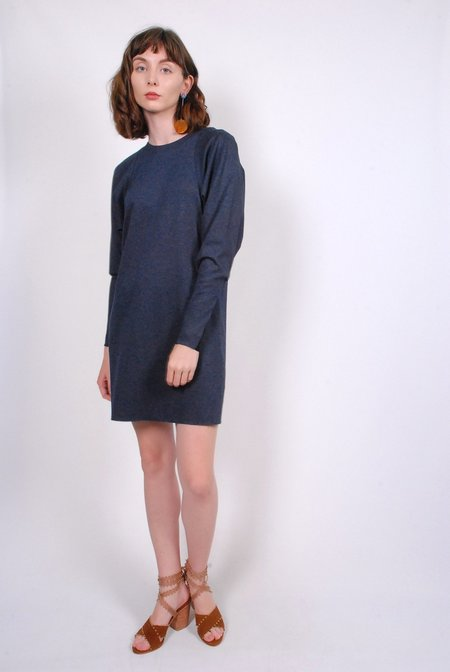 Tibi Calvary Twill Dolman Sleeve Mini Dress