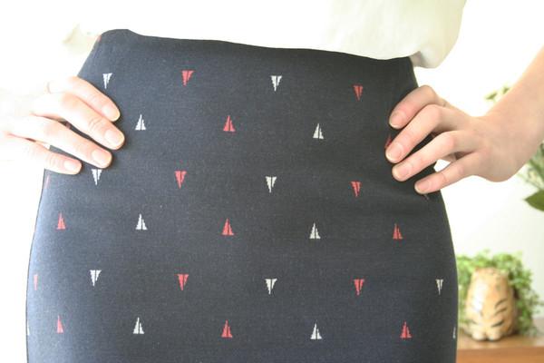 Eve Gravel Matelot Skirt