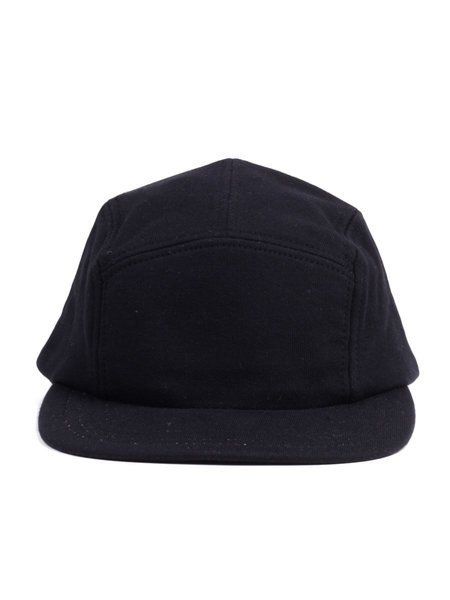 Reigning Champ Midweight Terry 5 Panel Hat in Black