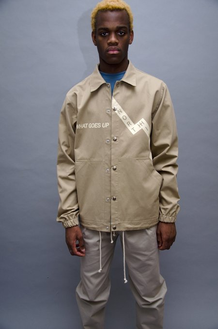North Hill Karma Coach Jacket - Beige