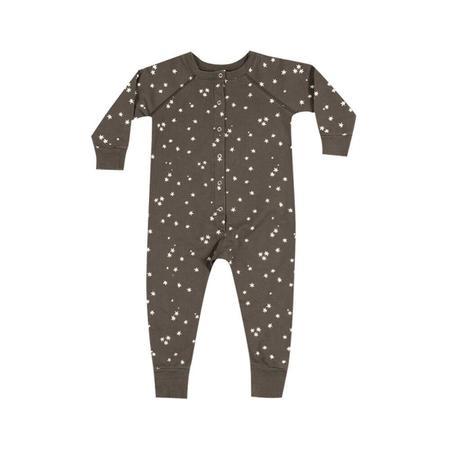 Kid's Rylee & Cru Stars Longjohns in Charcoal