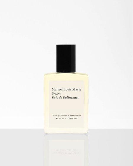 Maison Louis Marie Perfume Oil - No.04 Bois de Balincourt