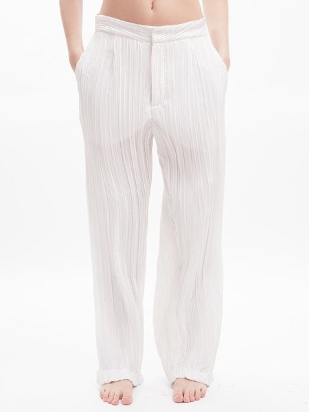 Karolyn Pho Pleated Boyfriend Trouser