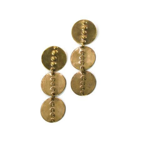 Laurel Hill Jewelry Petroglyph Cairn Earrings - No 1