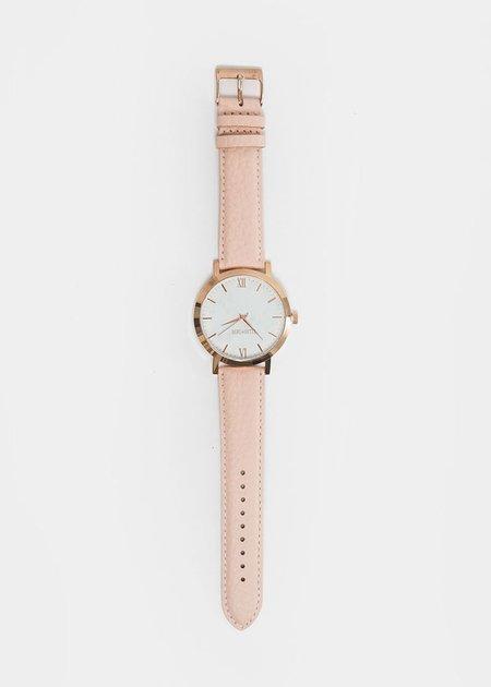 Berg + Betts Blush and Rose Gold Round Watch