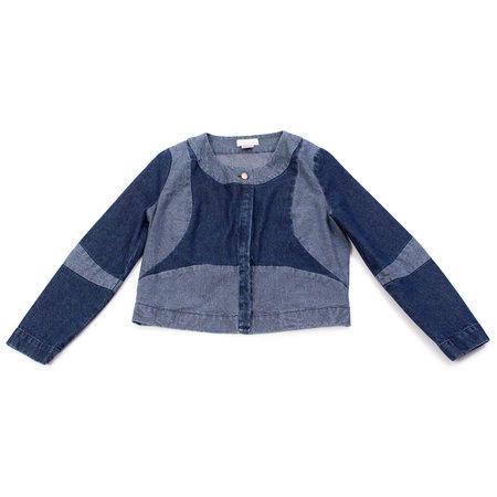 Carleen Denim Patchwork Jacket