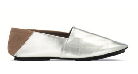 Newbark Jacks Slip-Ons - Silver
