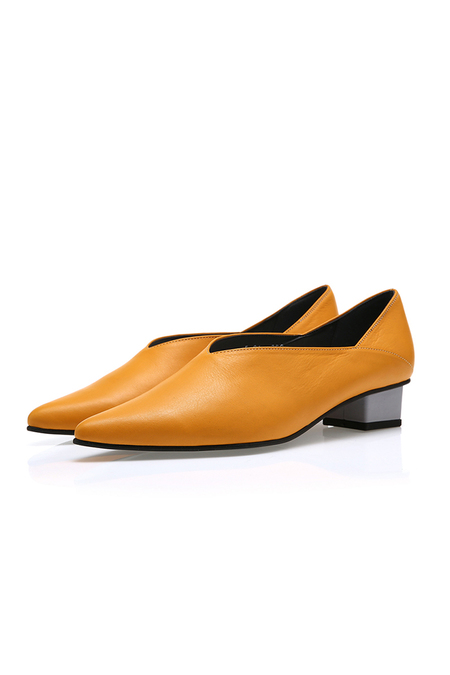 Yuul Yie Pointy Cutting Flat - Yellow