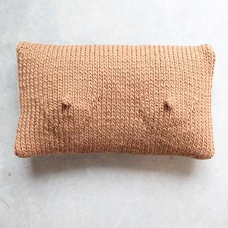 Sin A-Cup Pillow in Almond