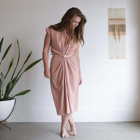 Miranda Bennett Knot Dress - Nico Silk Noil