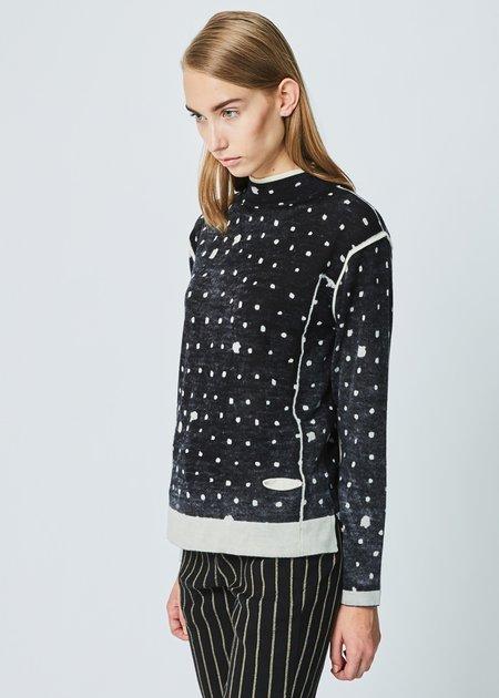 Yoshi Kondo Use Doule Collar Sweater