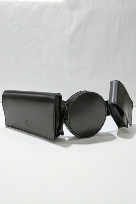 VereVerto Deco Belt Bag - Black