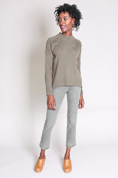 Steven Alan Adagio sweater in olive melange