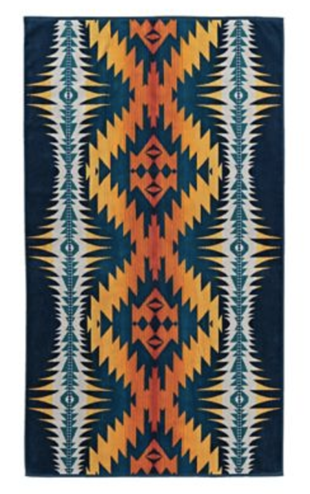 Pendleton Night Dance Spa Towel