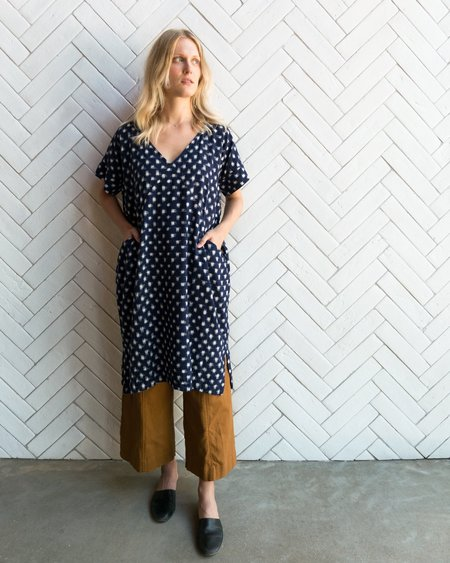 Esby ALICE TUNIC - NAVY IKAT