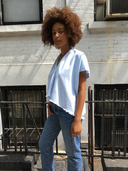 Miranda Bennett Denim Everyday Top