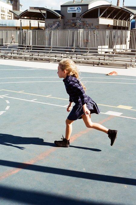 Kids Shopboyandgirl Liberty Skirt - Navy Polka Dot